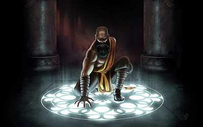 Monk fanart